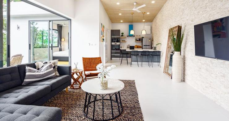New 2 Bedroom Modern Pool Villas in Bophut Hills-11