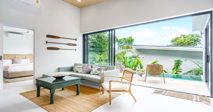 New 2 Bedroom Modern Pool Villas in Bophut Hills-2