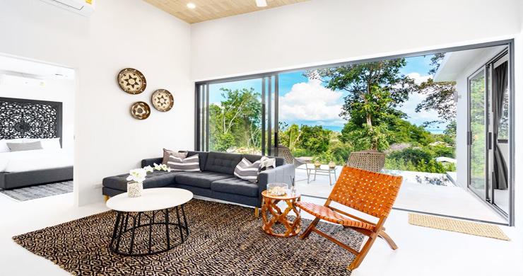 New 2 Bedroom Modern Pool Villas in Bophut Hills-1