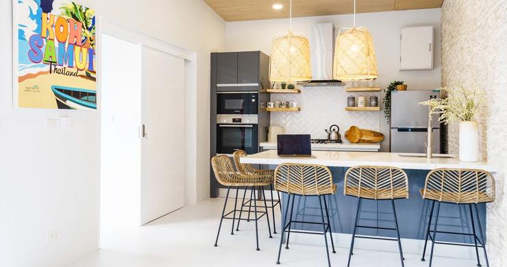 New 2 Bedroom Modern Pool Villas in Bophut Hills-5