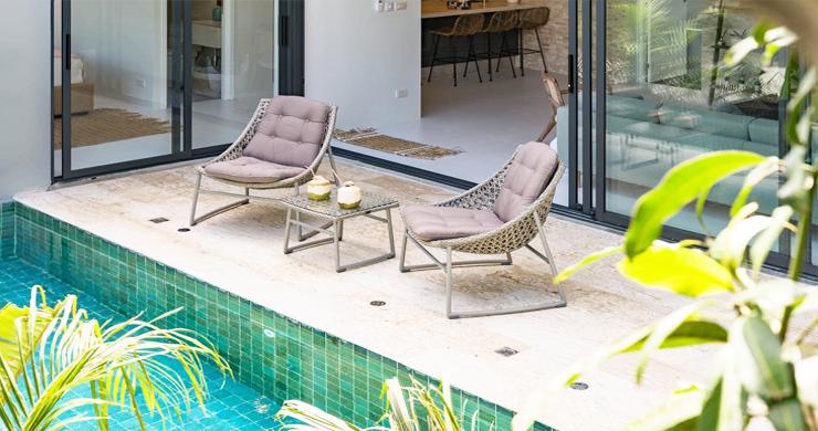 New 2 Bedroom Modern Pool Villas in Bophut Hills-4