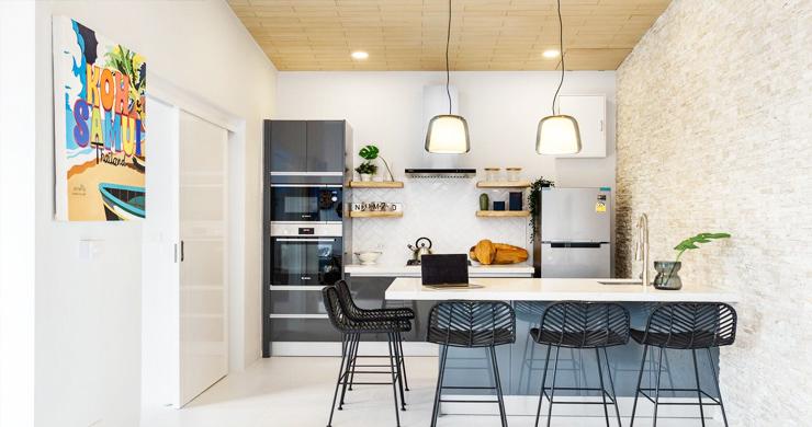 New 2 Bedroom Modern Pool Villas in Bophut Hills-3