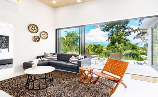 New 2 Bedroom Modern Pool Villas in Bophut Hills