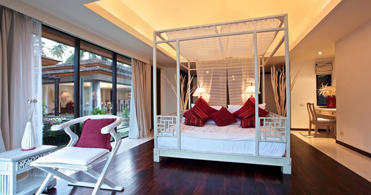Beachfront 4-Bedroom Boutique Villa Estate in Bophut-14