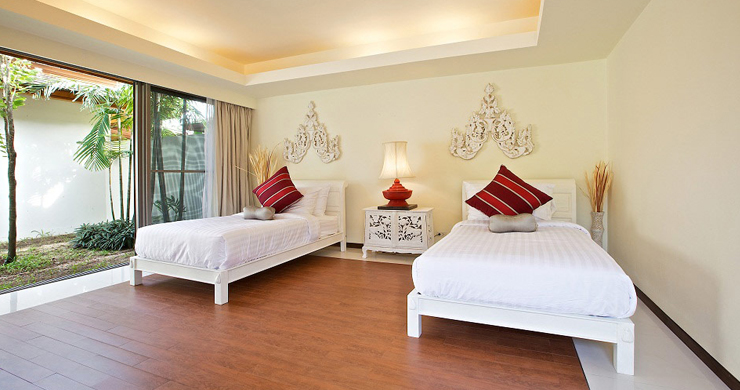 Beachfront 4-Bedroom Boutique Villa Estate in Bophut-12