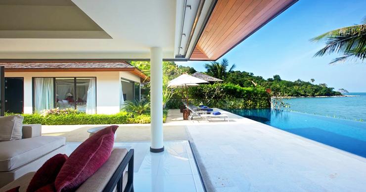 Beachfront 4-Bedroom Boutique Villa Estate in Bophut-2
