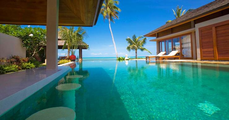 Glorious 6 Bedroom Beachfront Gem of Villa in Lipa Noi-7