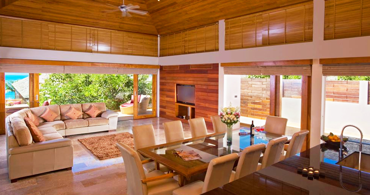 Glorious 6 Bedroom Beachfront Gem of Villa in Lipa Noi-5