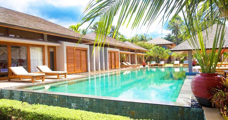 Glorious 6 Bedroom Beachfront Gem of Villa in Lipa Noi-13