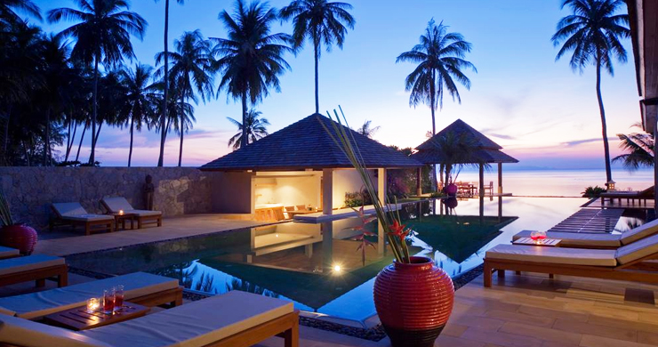 Glorious 6 Bedroom Beachfront Gem of Villa in Lipa Noi-16