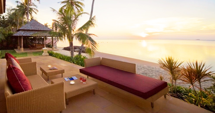 Glorious 6 Bedroom Beachfront Gem of Villa in Lipa Noi-4