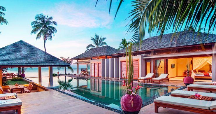 Glorious 6 Bedroom Beachfront Gem of Villa in Lipa Noi-1