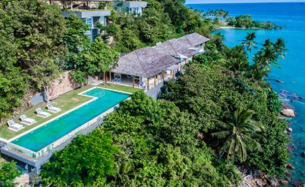 Unique Headland 6-Bedroom Villa on Laem Sor Bay