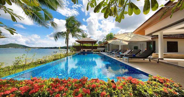 4 Bedroom Beachfront Pool Villa by Fisherman's Village-9