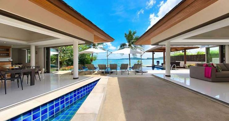 4 Bedroom Beachfront Pool Villa by Fisherman's Village-4