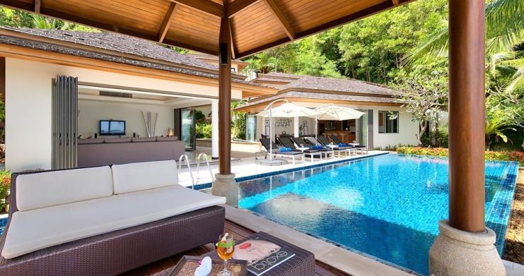 4 Bedroom Beachfront Pool Villa by Fisherman's Village-3