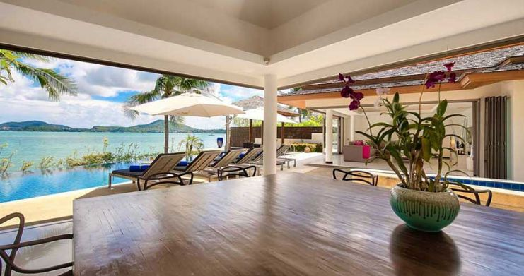 4 Bedroom Beachfront Pool Villa by Fisherman's Village-7