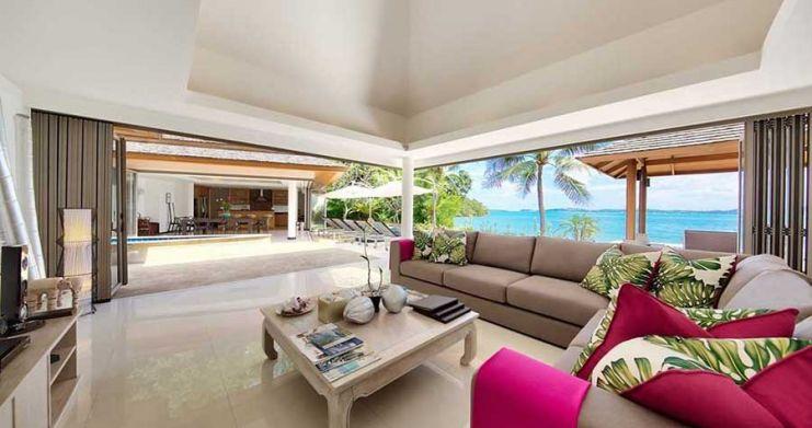 4 Bedroom Beachfront Pool Villa by Fisherman's Village-5