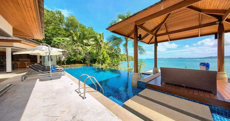 4 Bedroom Beachfront Pool Villa by Fisherman's Village-10