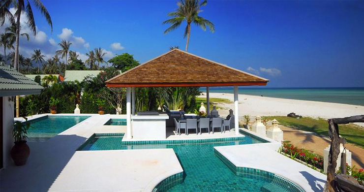 4 Bedroom Beachfront Pool Villa in Hua Thanon-15