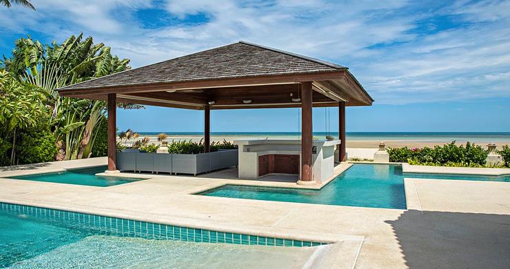 4 Bedroom Beachfront Pool Villa in Hua Thanon-1