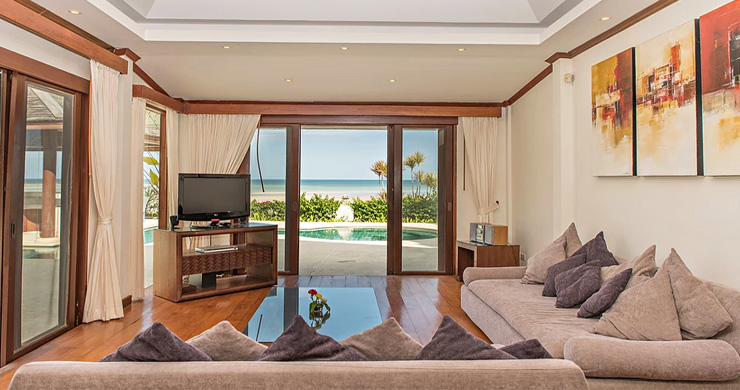 4 Bedroom Beachfront Pool Villa in Hua Thanon-3