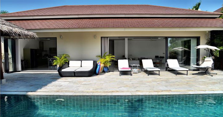 Exclusive 3 Bedroom Luxury Pool Villa in Maenam-2