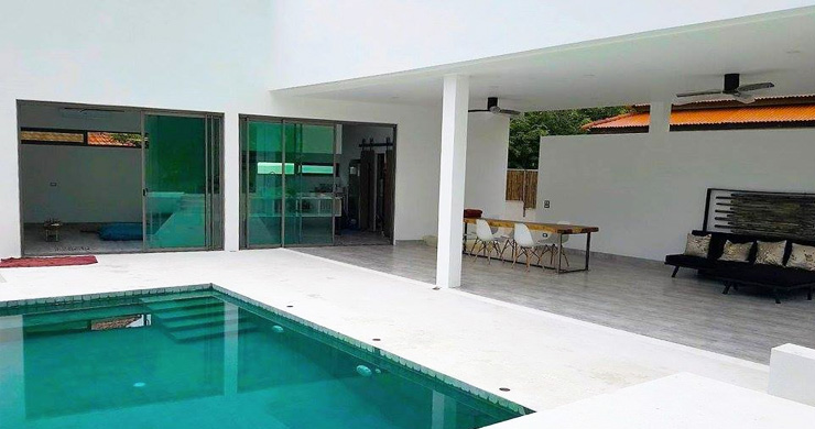 Modern Minimal 3 Bedroom Pool Villa in Plai Laem-7