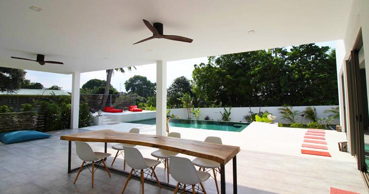 Modern Minimal 3 Bedroom Pool Villa in Plai Laem-8