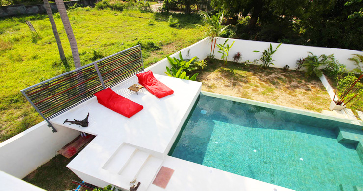 Modern Minimal 3 Bedroom Pool Villa in Plai Laem-11