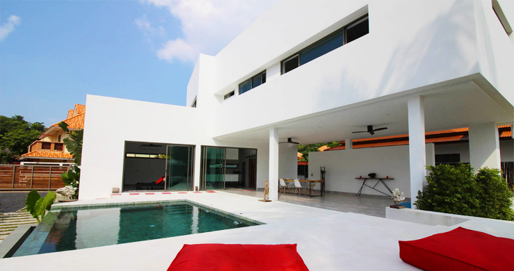 Modern Minimal 3 Bedroom Pool Villa in Plai Laem-2