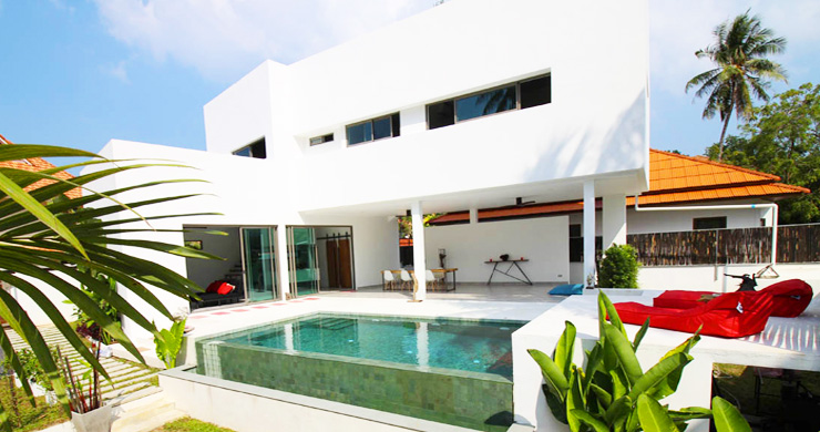 Modern Minimal 3 Bedroom Pool Villa in Plai Laem-18