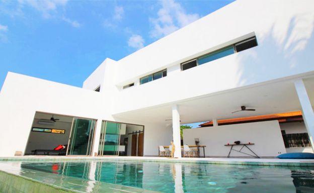Modern Minimal 3 Bedroom Pool Villa in Plai Laem