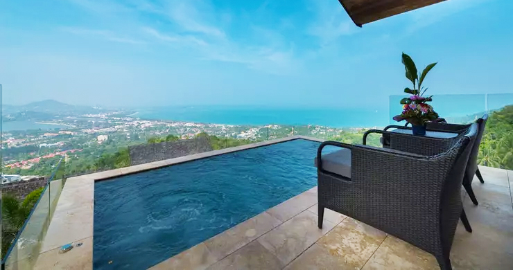 42% OFF! 4 Bed Luxury Sea View Villa in Chaweng Noi-8