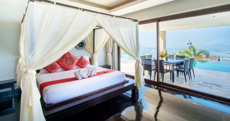 42% OFF! 4 Bed Luxury Sea View Villa in Chaweng Noi-9