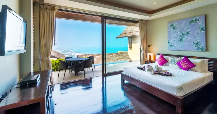42% OFF! 4 Bed Luxury Sea View Villa in Chaweng Noi-6