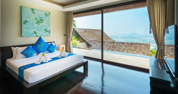 42% OFF! 4 Bed Luxury Sea View Villa in Chaweng Noi-10