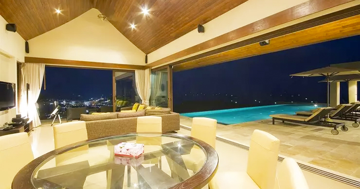 42% OFF! 4 Bed Luxury Sea View Villa in Chaweng Noi-16