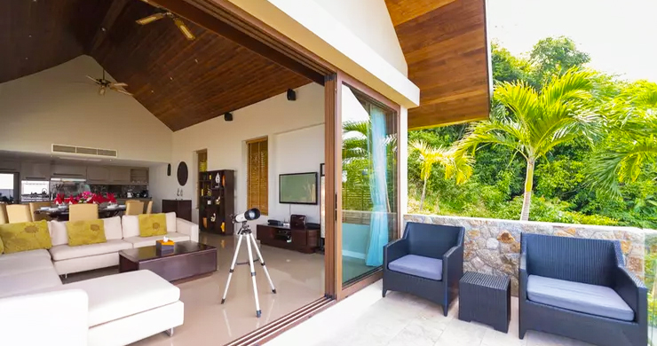 42% OFF! 4 Bed Luxury Sea View Villa in Chaweng Noi-3