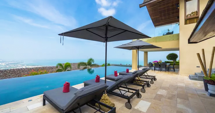 42% OFF! 4 Bed Luxury Sea View Villa in Chaweng Noi-1