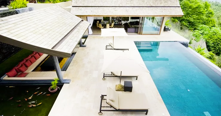 42% OFF! 4 Bed Luxury Sea View Villa in Chaweng Noi-13