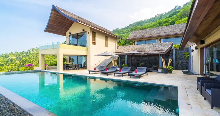 42% OFF! 4 Bed Luxury Sea View Villa in Chaweng Noi-2