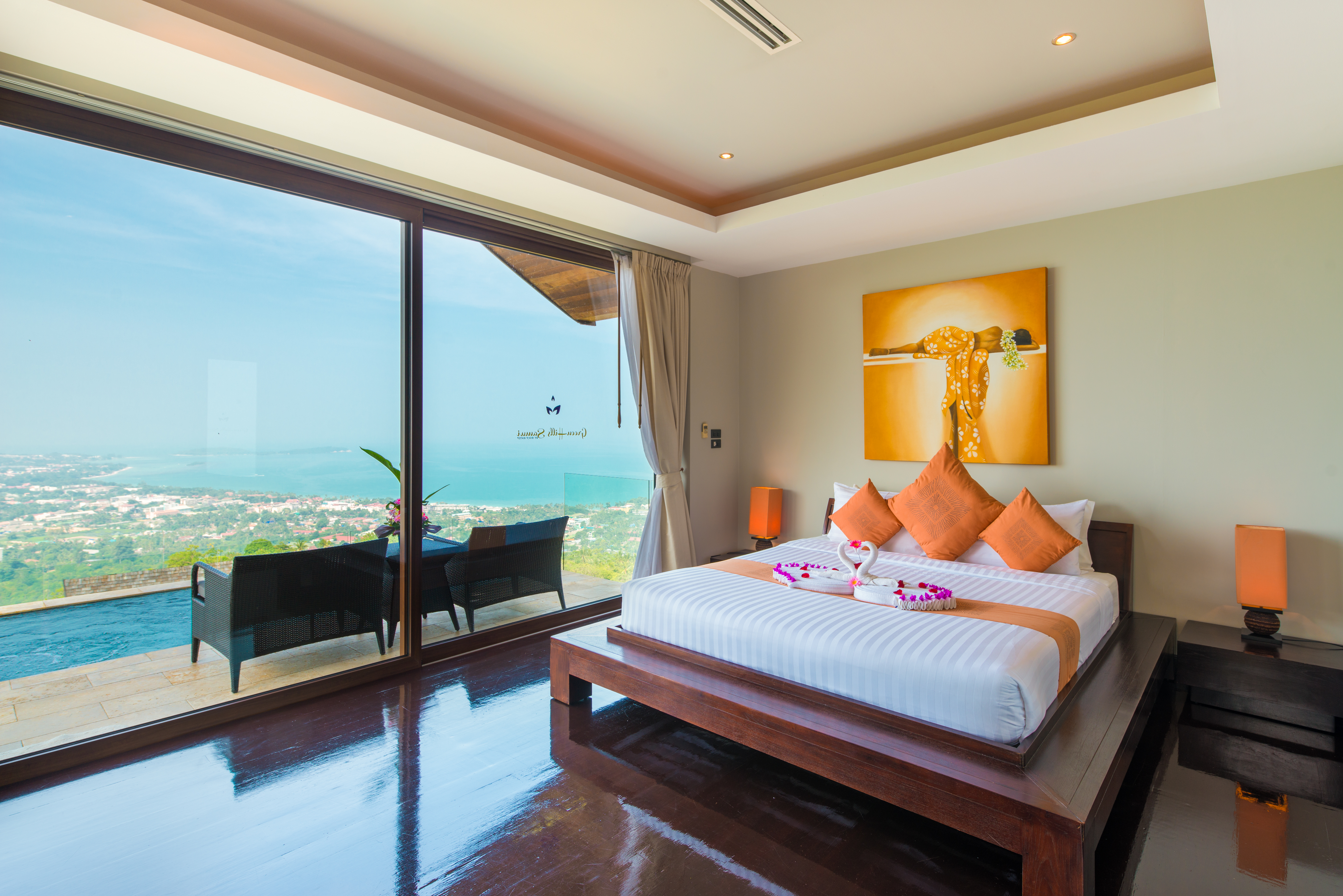 Beautiful 4 Bedroom Luxury Sea View Villa in Chaweng-16