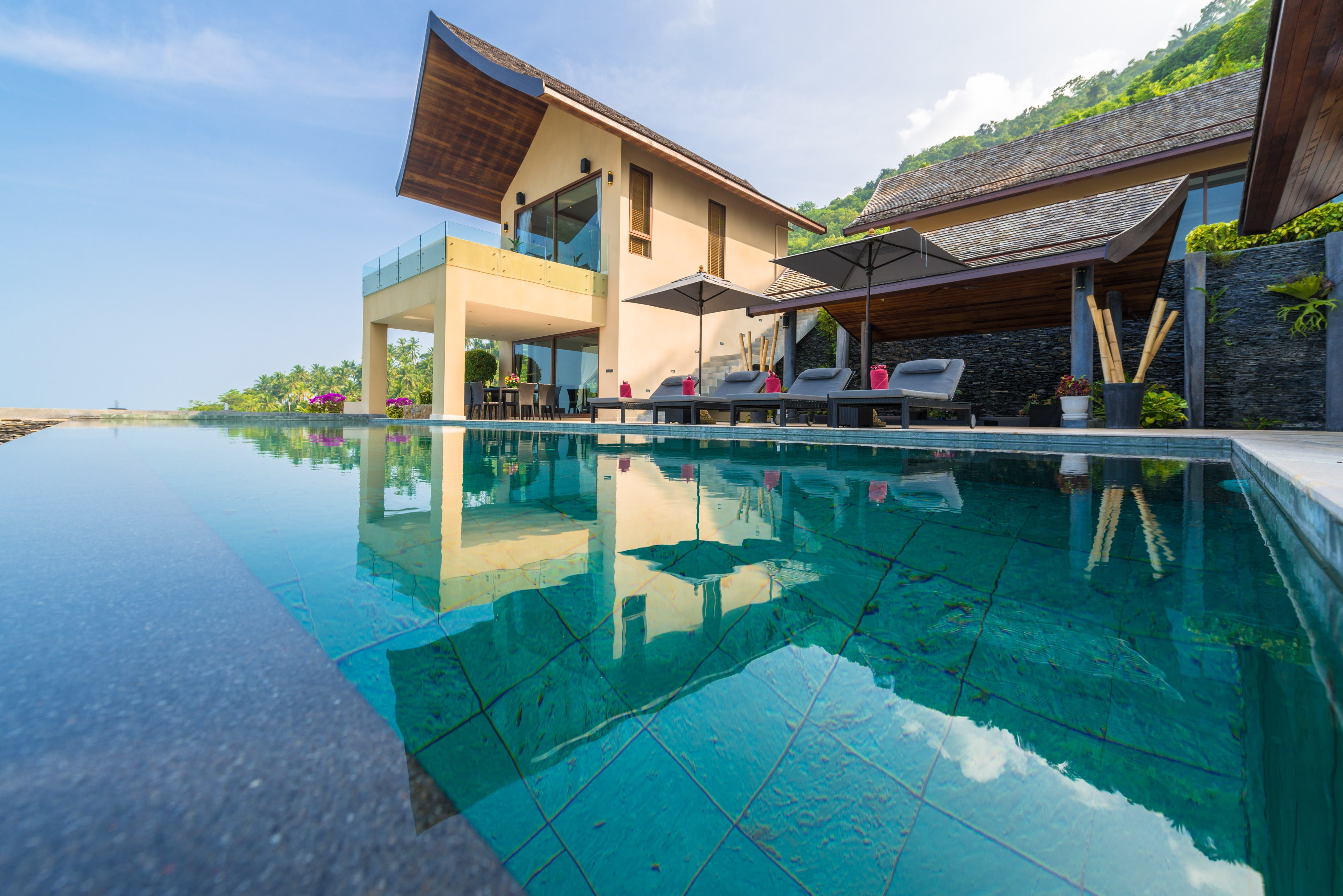 Beautiful 4 Bedroom Luxury Sea View Villa in Chaweng-1