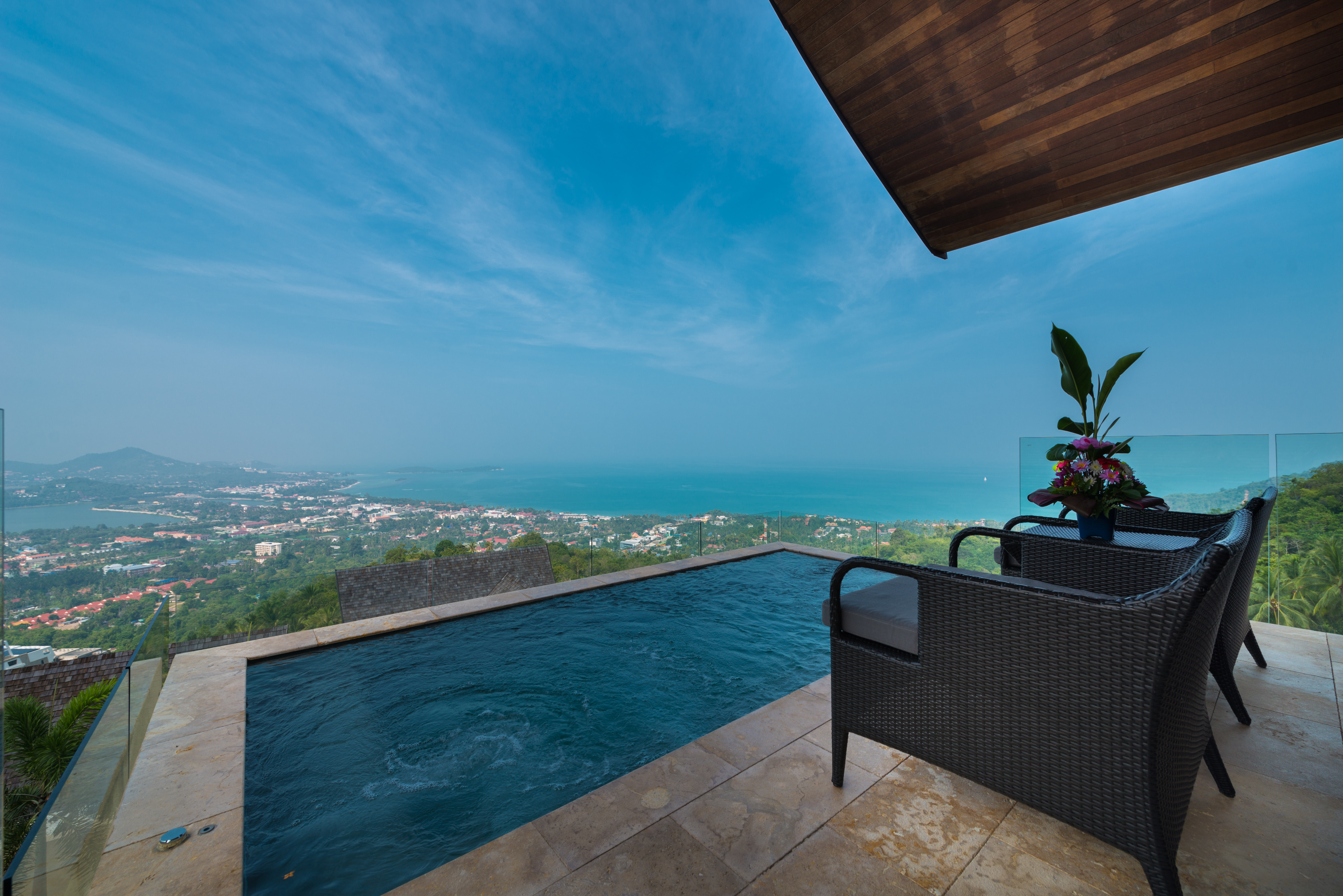Beautiful 4 Bedroom Luxury Sea View Villa in Chaweng-20