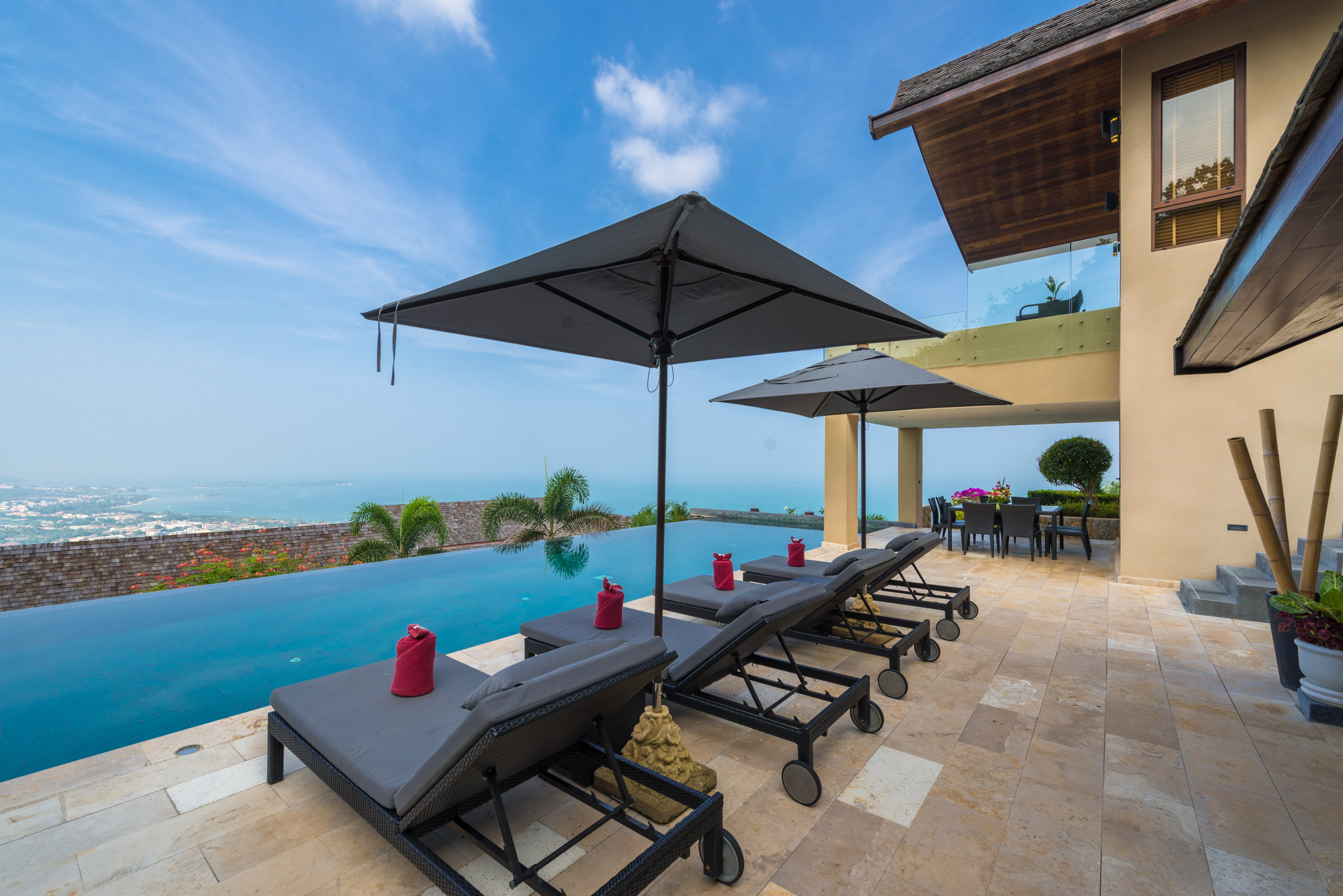 Beautiful 4 Bedroom Luxury Sea View Villa in Chaweng-2