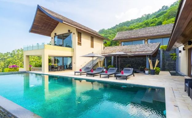 42% OFF! 4 Bed Luxury Sea View Villa in Chaweng Noi