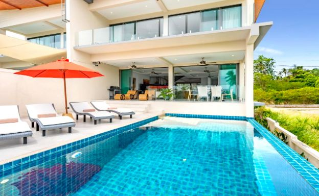 New Luxury 4 Bed Sea-view Villa for Sale in Bangrak