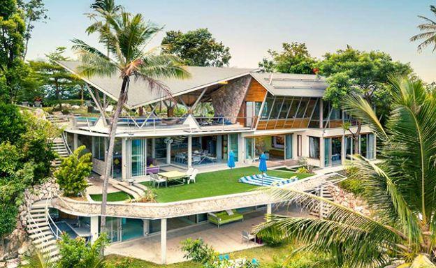 Unique Luxury Seaview Villa Resort in Taling Ngam