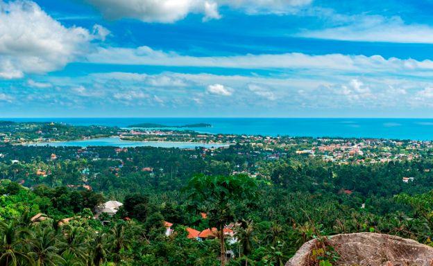 Pristine panoramic Sea View Land Plot on Chaweng Hill